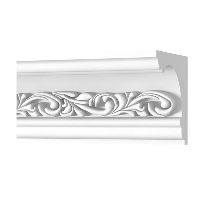 Enriched plaster cornices