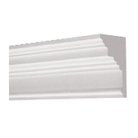 Profiled plaster cornices