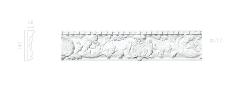 Plaster frieze F-17