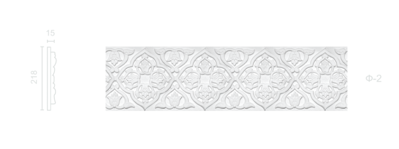 Plaster frieze F-2