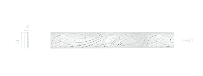 Plaster frieze F-21