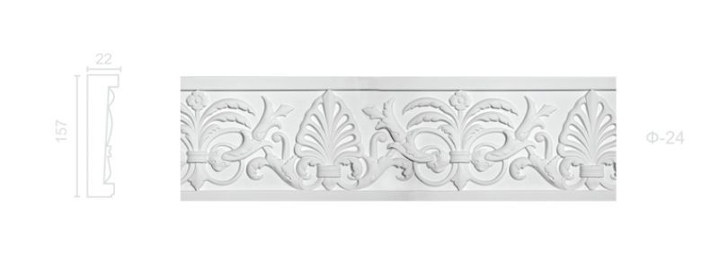 Plaster frieze F-24