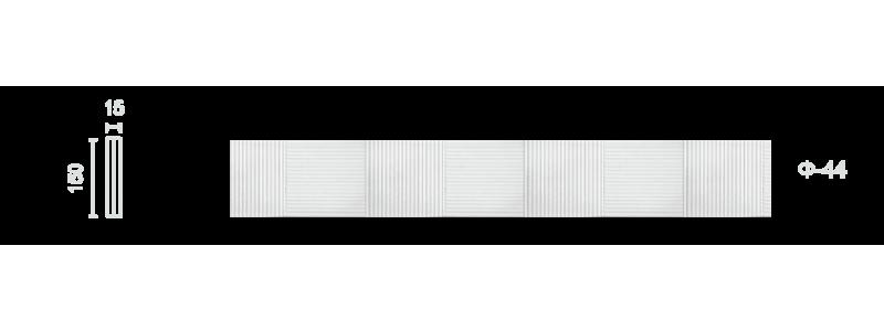 Plaster frieze F-44
