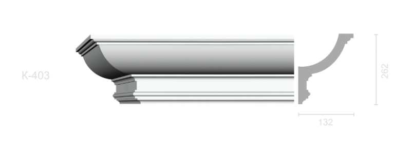 Profiled cornice С-403