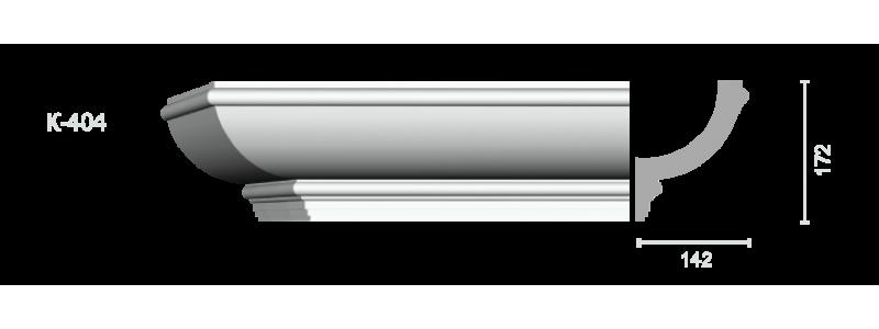 Profiled cornice С-404