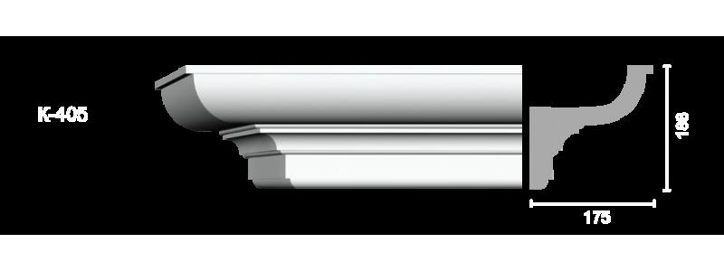 Profiled cornice С-405