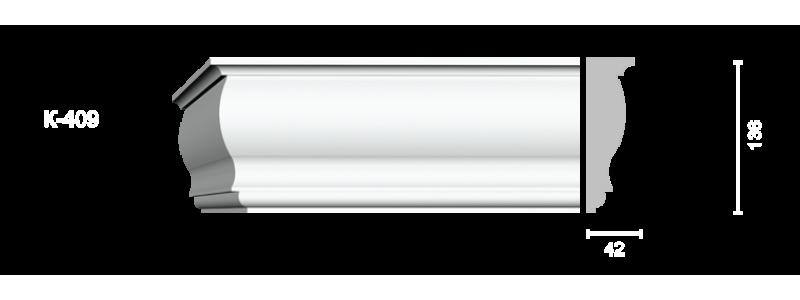 Profiled cornice С-409