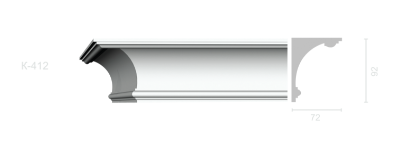 Profiled cornice С-412