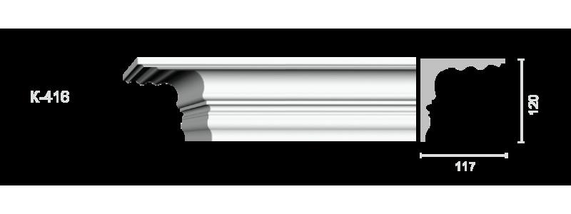 Profiled cornice С-416