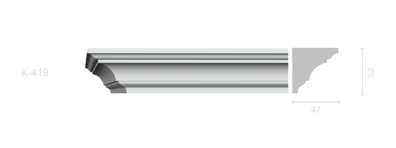 Profiled cornice С-419
