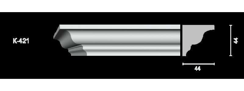 Profiled cornice С-421