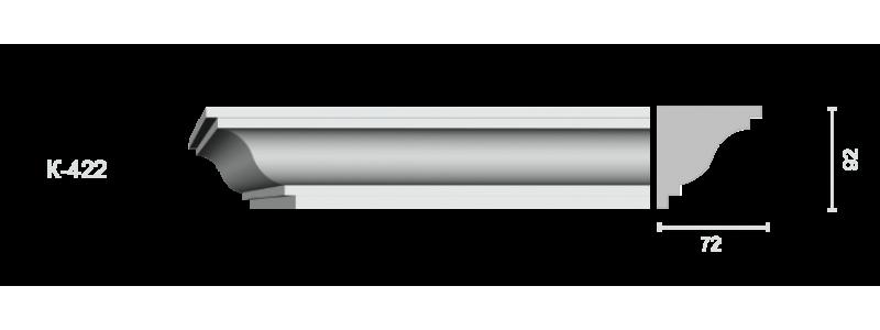 Profiled cornice С-422