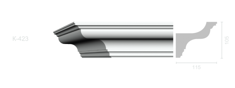 Profiled cornice С-423