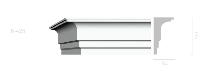 Profiled cornice С-425