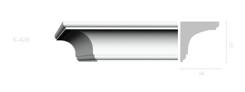 Profiled cornice С-426