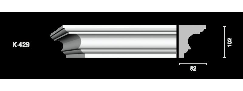 Profiled cornice С-429