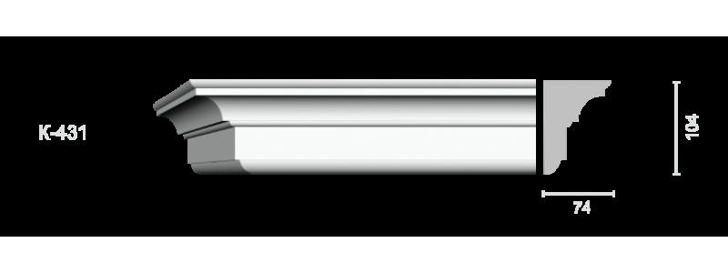 Profiled cornice С-431