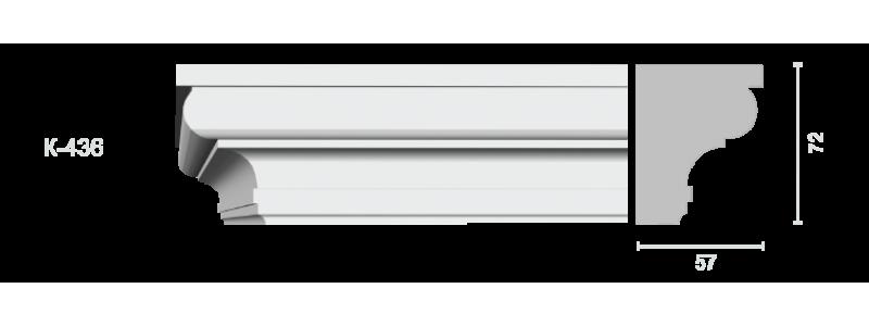 Profiled cornice С-436