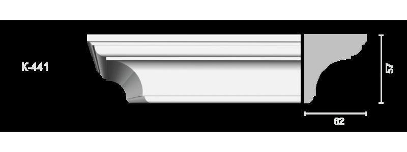 Profiled cornice С-441