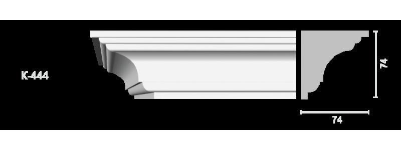 Profiled cornice С-444