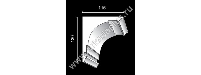 Profiled cornice С-448