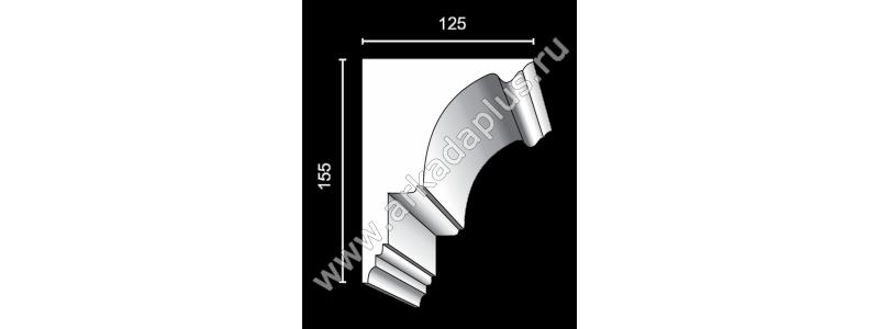 Profiled cornice С-449