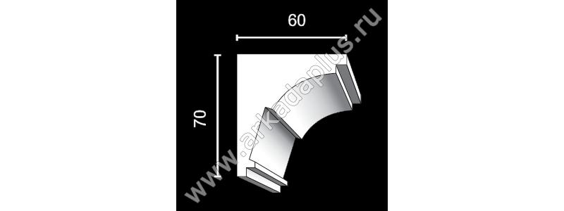 Profiled cornice С-450