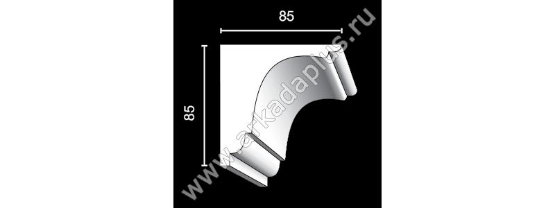 Profiled cornice С-452