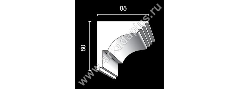 Profiled cornice С-453