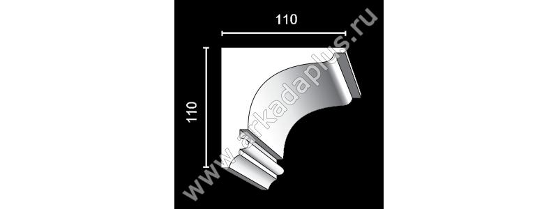 Profiled cornice С-455