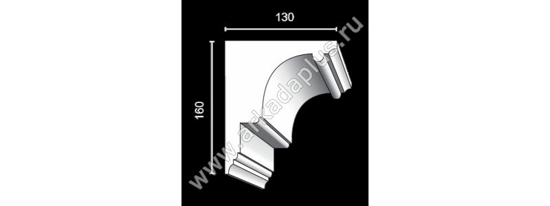 Profiled cornice С-456