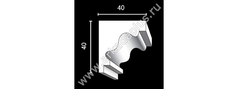 Profiled cornice С-457
