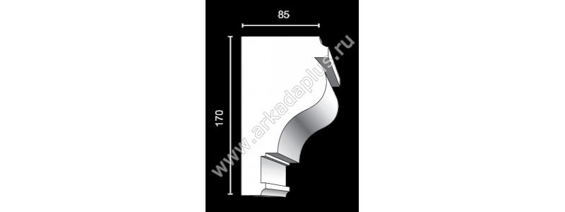 Profiled cornice С-458
