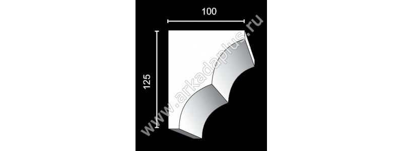 Profiled cornice С-459