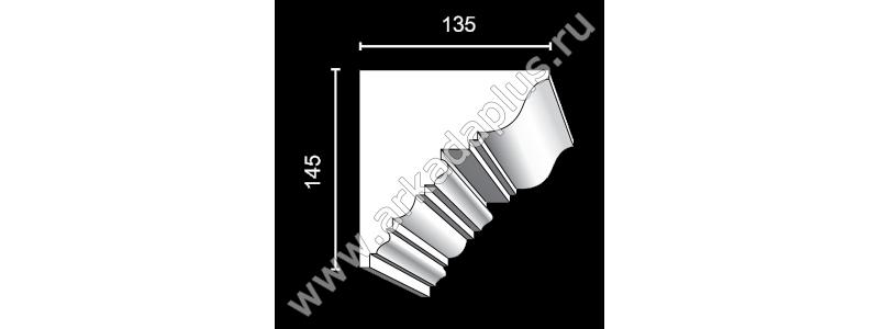 Profiled cornice С-460