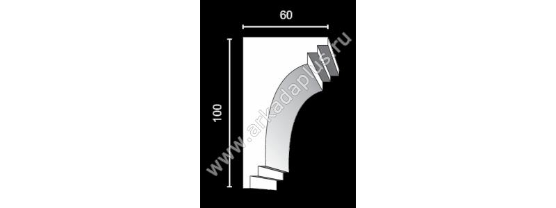 Profiled cornice С-463
