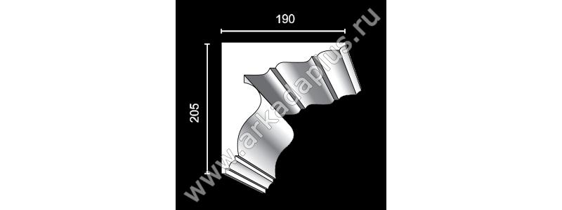 Profiled cornice С-465