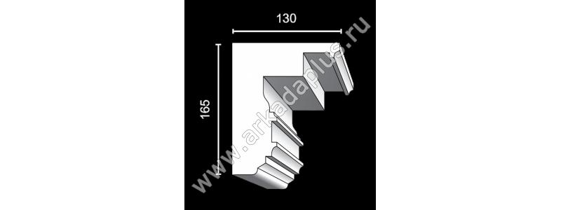 Profiled cornice С-468