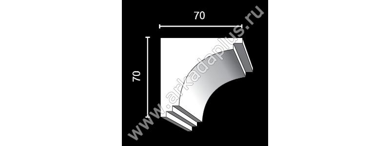 Profiled cornice С-470