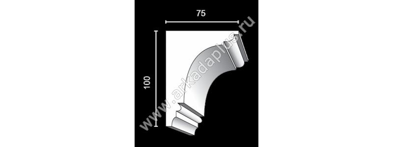 Profiled cornice С-472