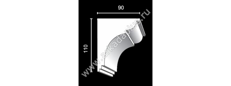 Profiled cornice С-474