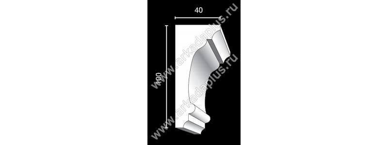 Profiled cornice С-475