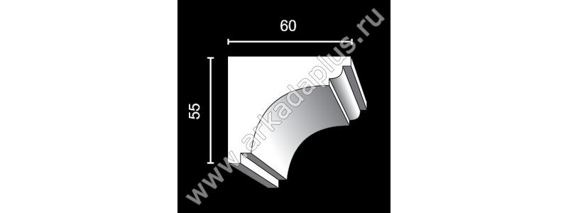 Profiled cornice С-476