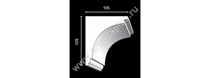 Profiled cornice С-479