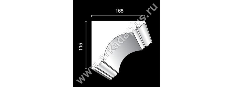 Profiled cornice С-480