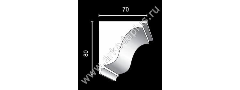 Profiled cornice С-482