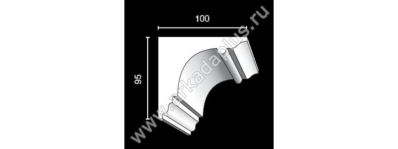 Profiled cornice С-483