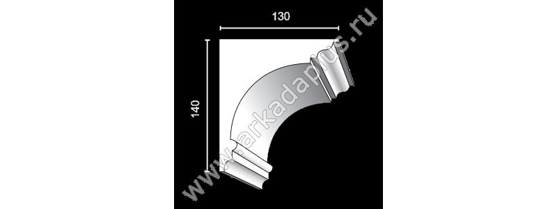 Profiled cornice С-484