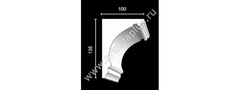 Profiled cornice С-486