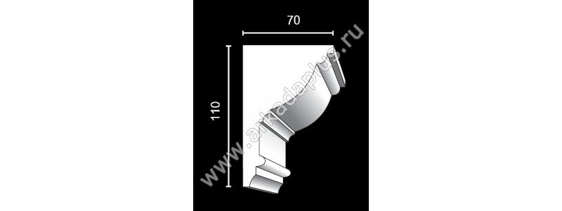 Profiled cornice С-489